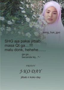 jilbab n kokoday campaign.